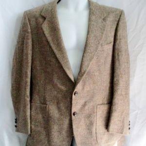 Vintage OLEG CASSINI USA Wool Blazer Sport Coat